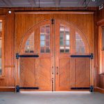 Aurora Fire Museum Door