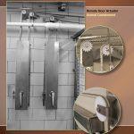 Sliding Door Track for Zoos, Remote Door Actuator