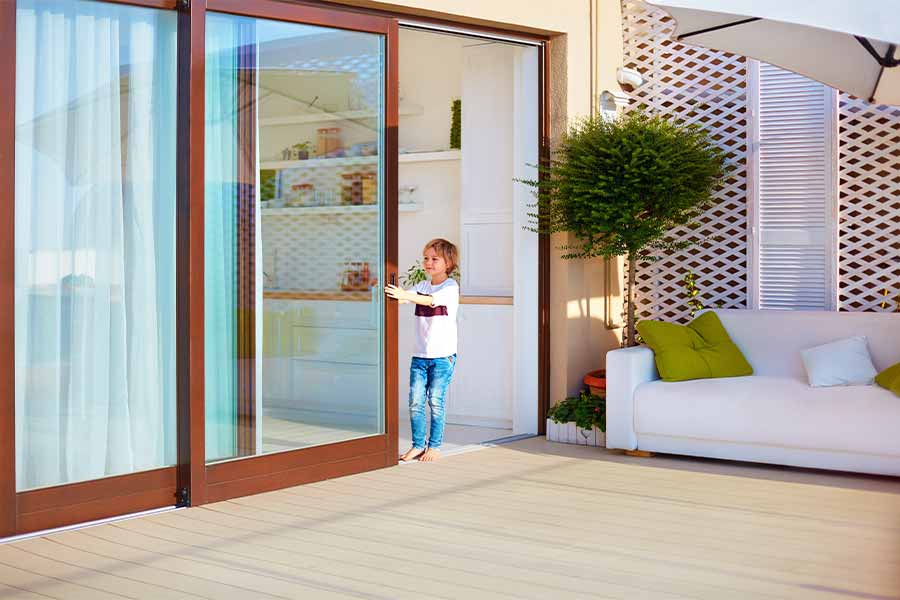 How to Attach Tempered Glass to Sliding Door Hardware