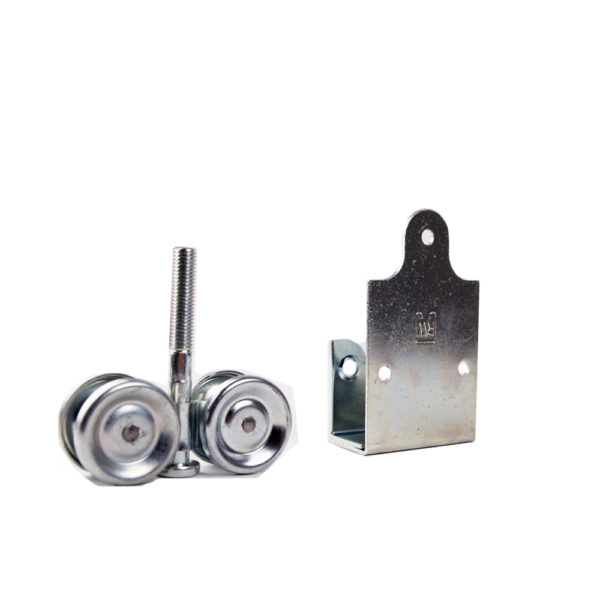 ball bearing truck hanger assembly with aprons