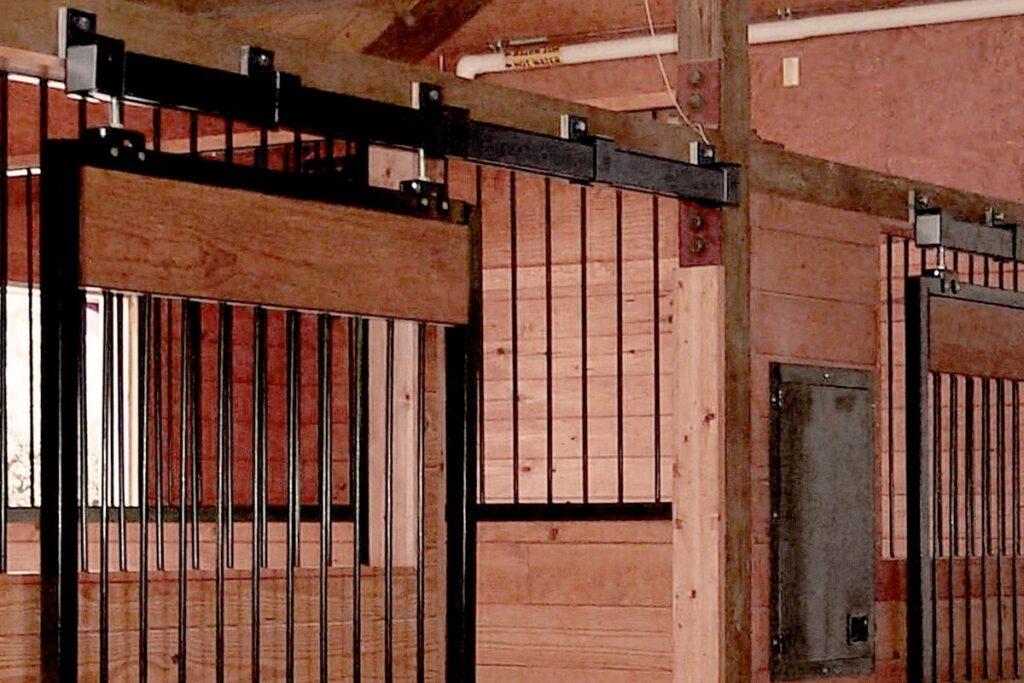 stall door hardware